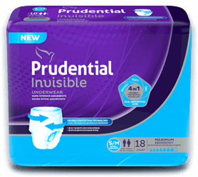 Prudential Invisible - Productos para incontinencia urinaria