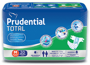 Prudential Total - Productos para incontinencia